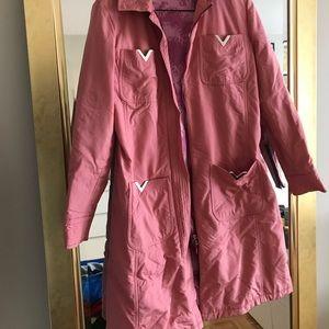 RED Valentino Jackets & Coats - VALENTINO RED - raincoat